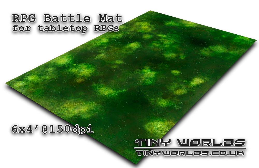 Printable tabletop gaming battle mat - Sump 081 6x4'