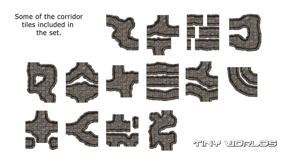 Cavern Corridor Tiles