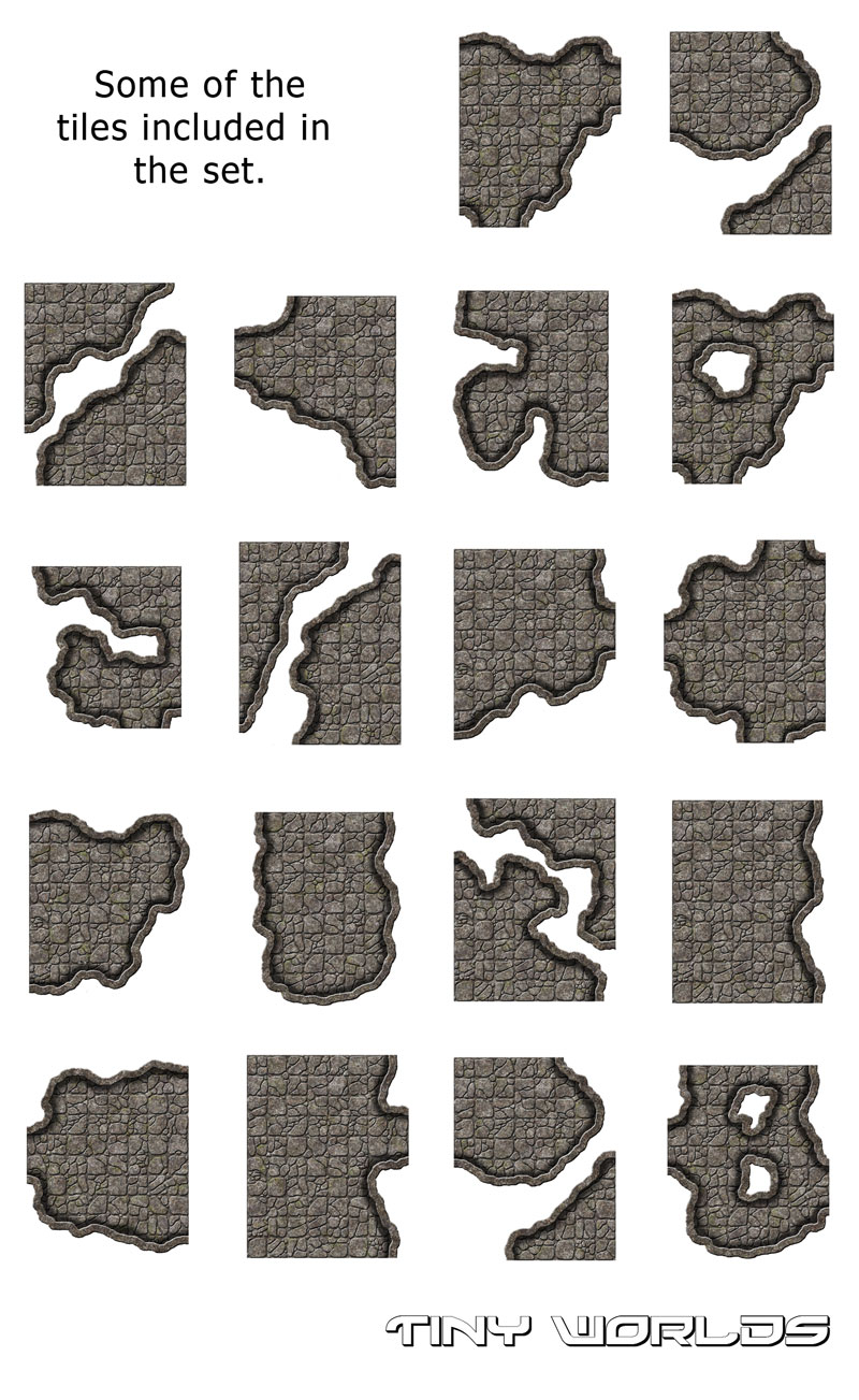 Large Chambers Cavern Tiles