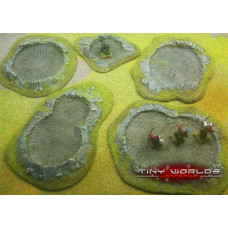 Wargames Scenery - Resin Craters
