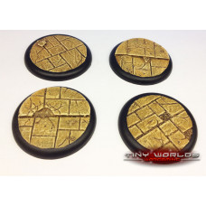 50mm Round Lipped Paved Dungeon Resin Bases
