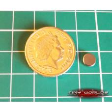 50 x 6mm x 2mm Neodymium Magnets (6x2mm)