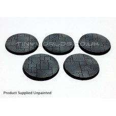 40mm Round Paved Dungeon Resin Bases