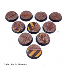 25mm Round Hive City Industrial Resin Bases (New Version)