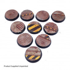 32mm Round Hive City Industrial Resin Bases