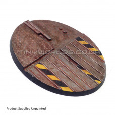 120mm Large Oval Hive City Industrial Resin Base B - Flyer