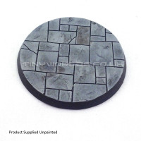 60mm Round Paved Resin Base A