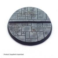 60mm Round Paved Resin Base B