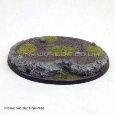105mm x 70mm Medium Oval Rock / Slate Resin Base - A