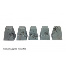 Dragons Teeth Tank Traps - Damaged