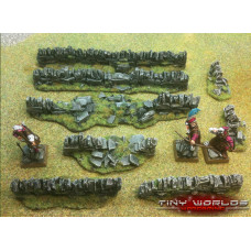 Stone Walls Set - 8 Pieces