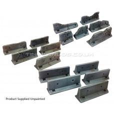 Concrete Jersey Barriers - 3 Sets