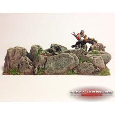 Rock Wall Spell Effect Template